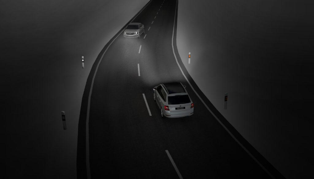Autonomní řízení - level 1