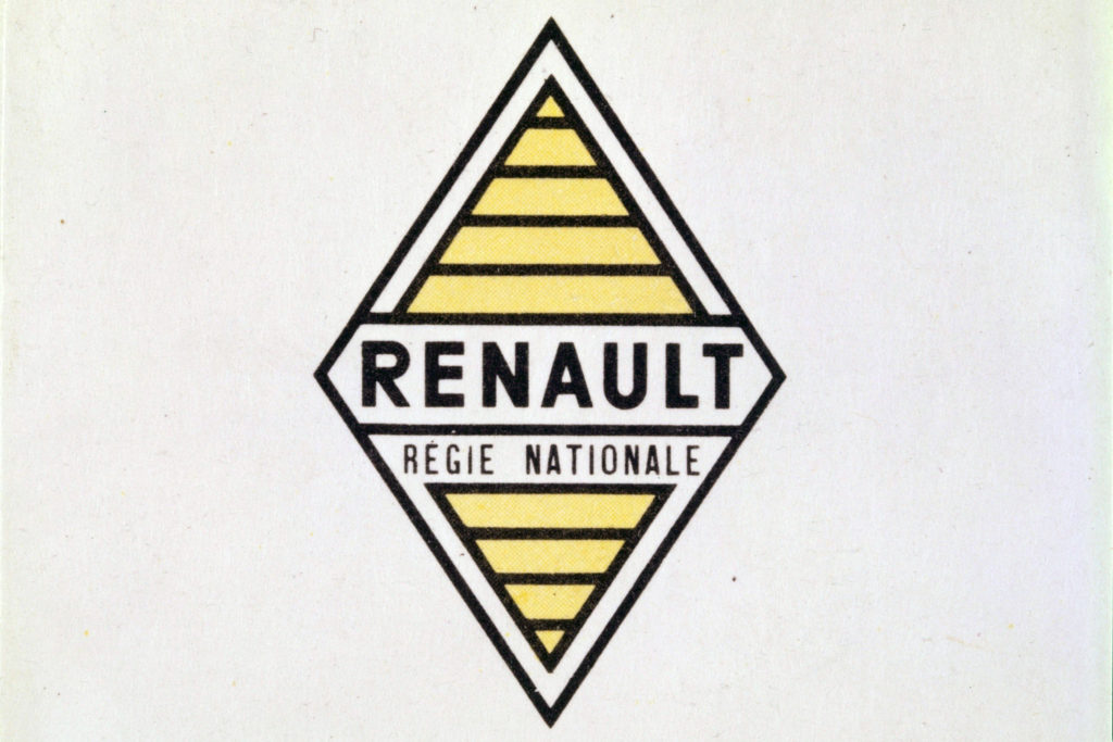 Logo Renault v roce 1945