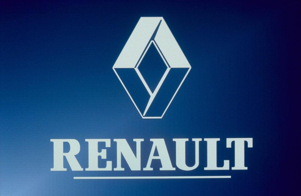 Logo Renault v roce 1992