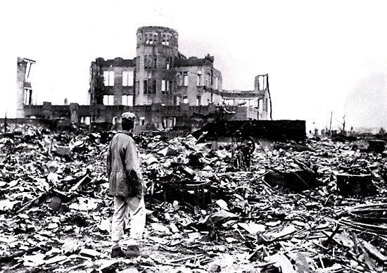 Atomová bomba v Hirošimě