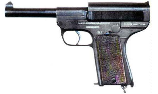 Pistole Schouboe M1907