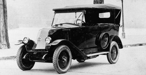 Filmová auta - Renault Type NN