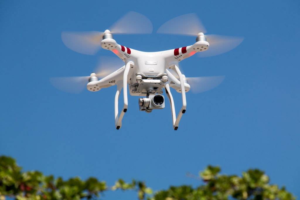 Létání s dronem je vyhledávanou zábavou