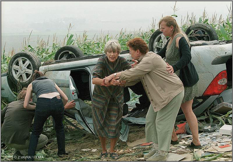 Filmová auta - Renault Laguna ve filmu Výlet