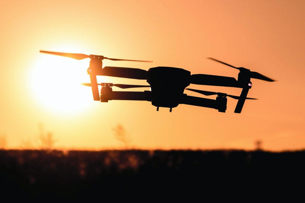 Létání s dronem