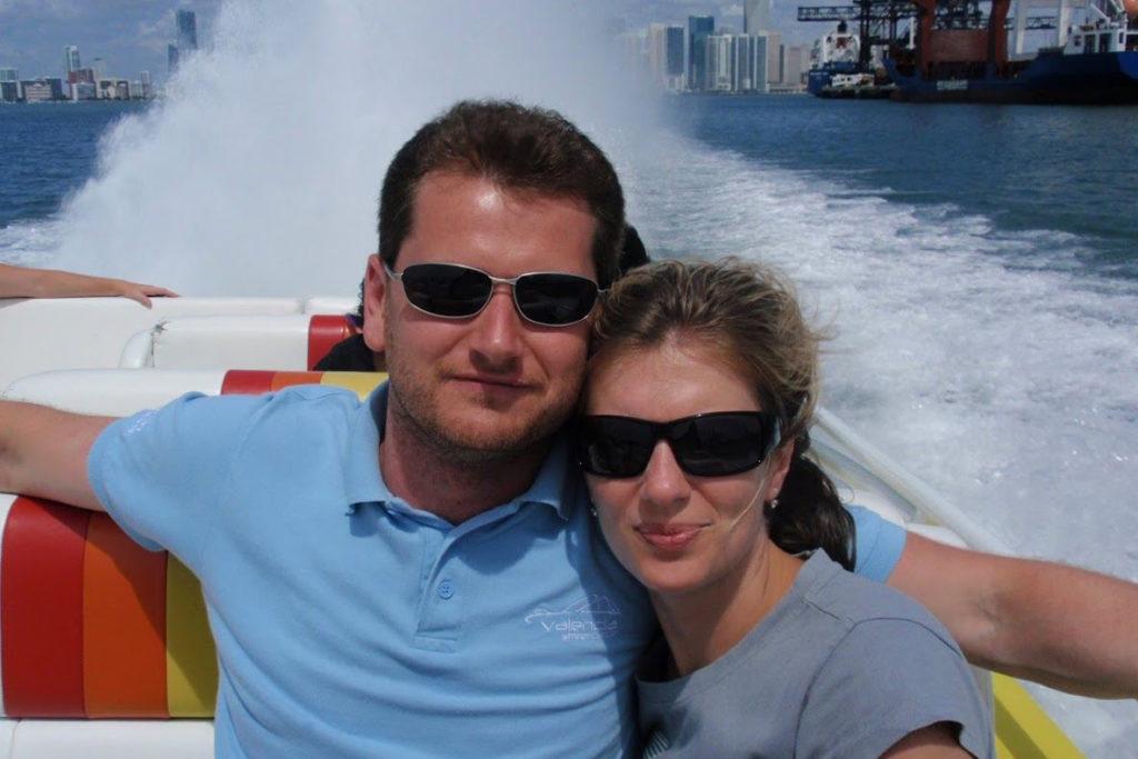 Tomáš Richtr s manželkou