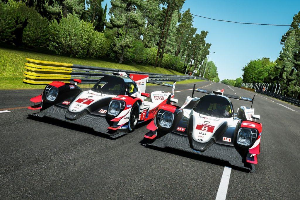 Virtuální závod Le Mans