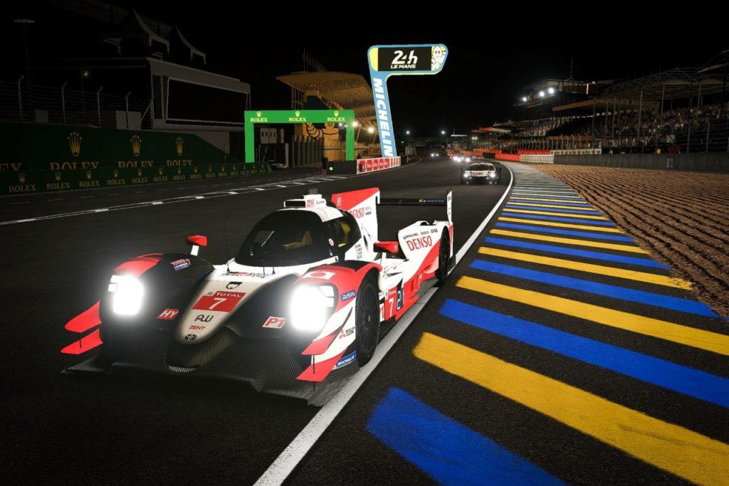 Virtuální závod 24 hodin Le Mans