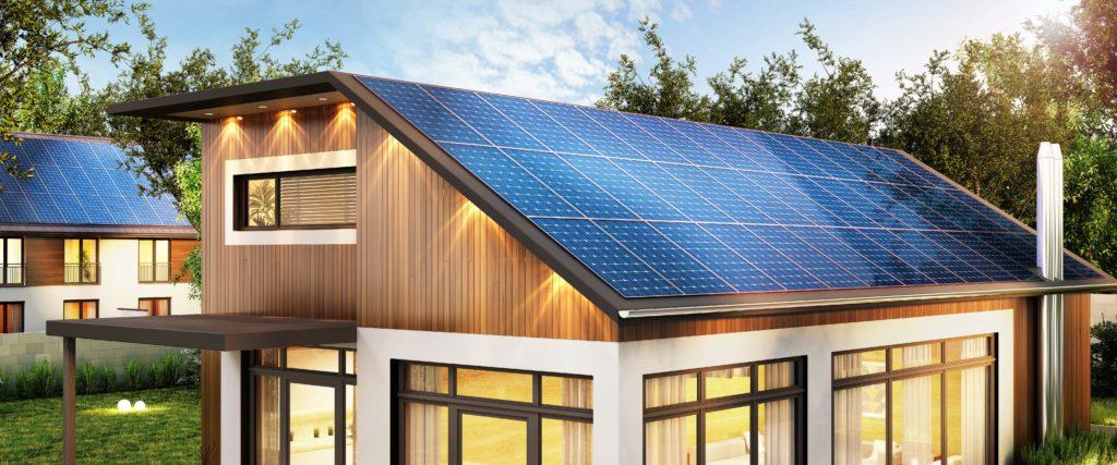 Energii soběstačným domům dodávají nejčastěji fotovoltaické panely