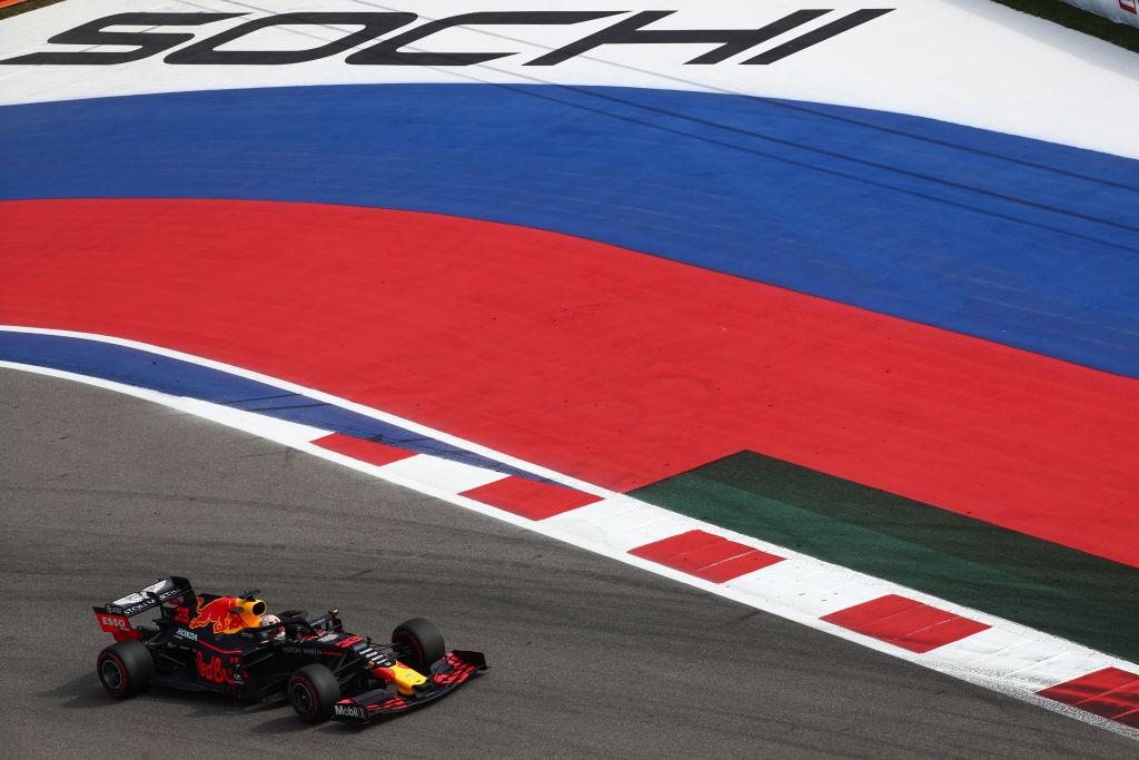 Mezi další závody F1 patří i Velká cena Ruska