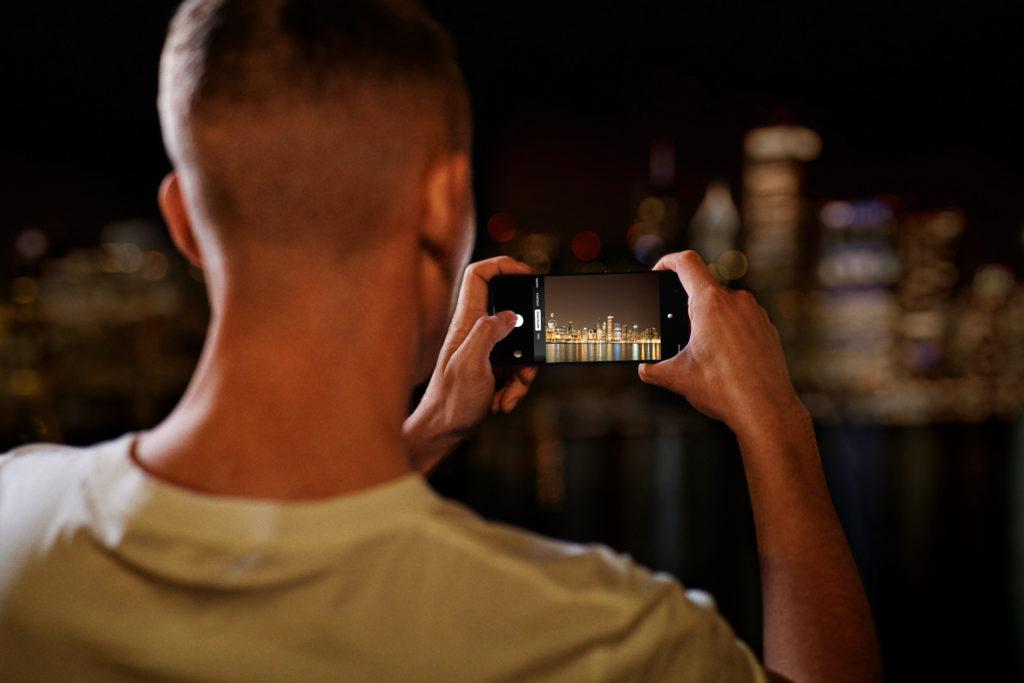 OnePlus Nord a noční režim