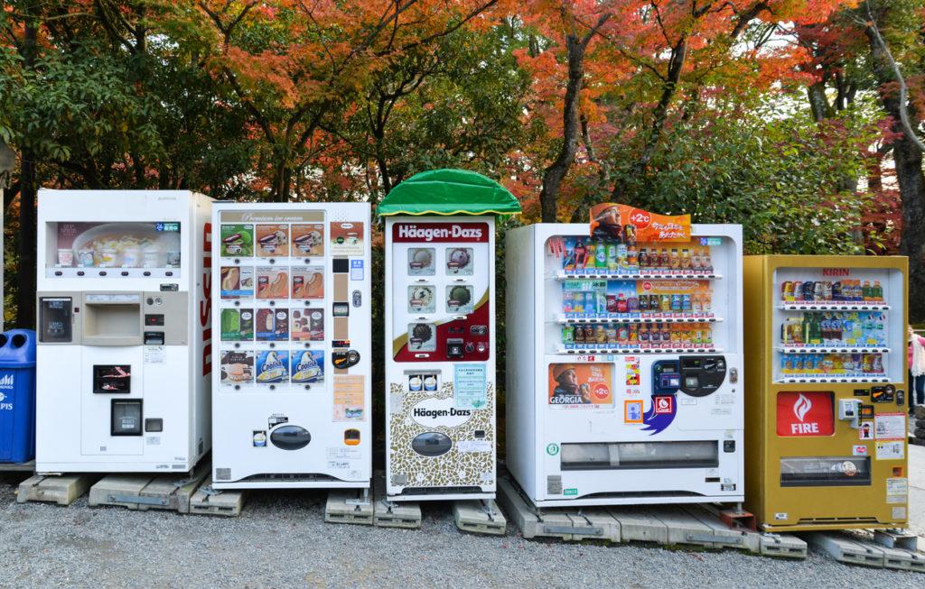 Japonsko je plné prodejních automatů