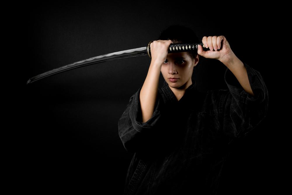 Japonsko a samurajky