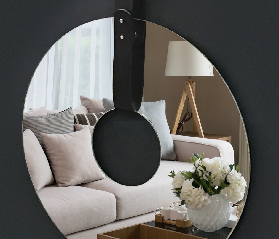 Interiérový design - kruhová zrcadla interiérům sluší