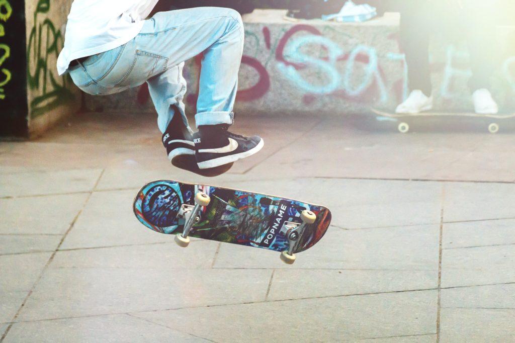 Skateboarding je skvělý a zábavný sport