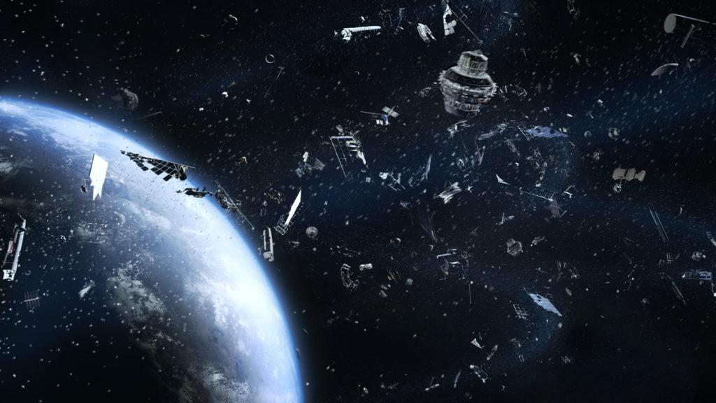 Znečištění - vesmírný odpad