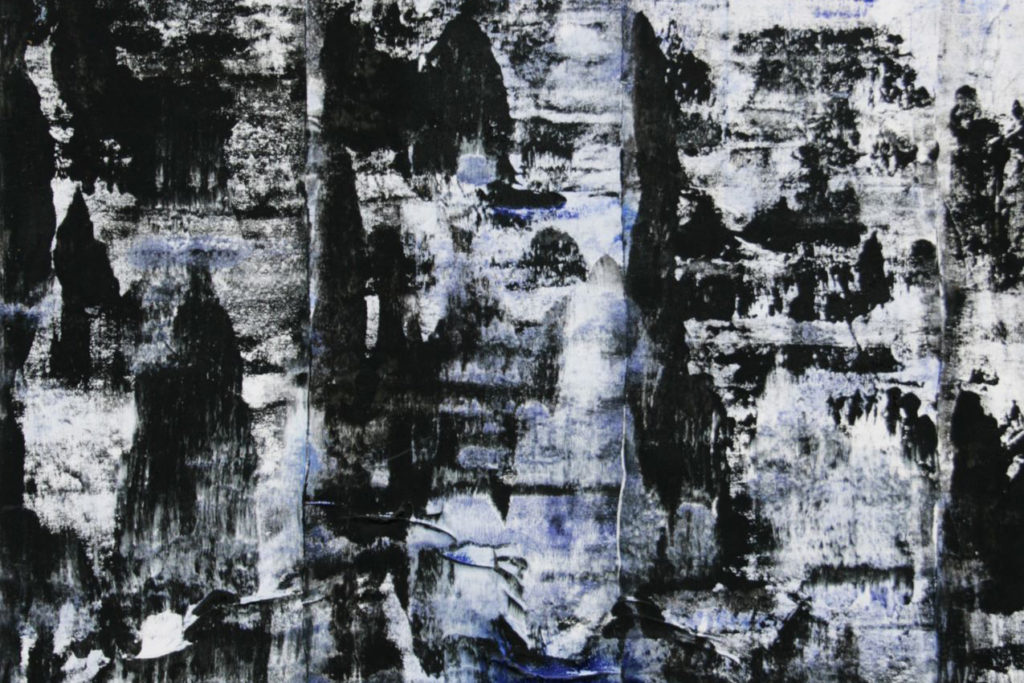Háblův obraz Black Mountains