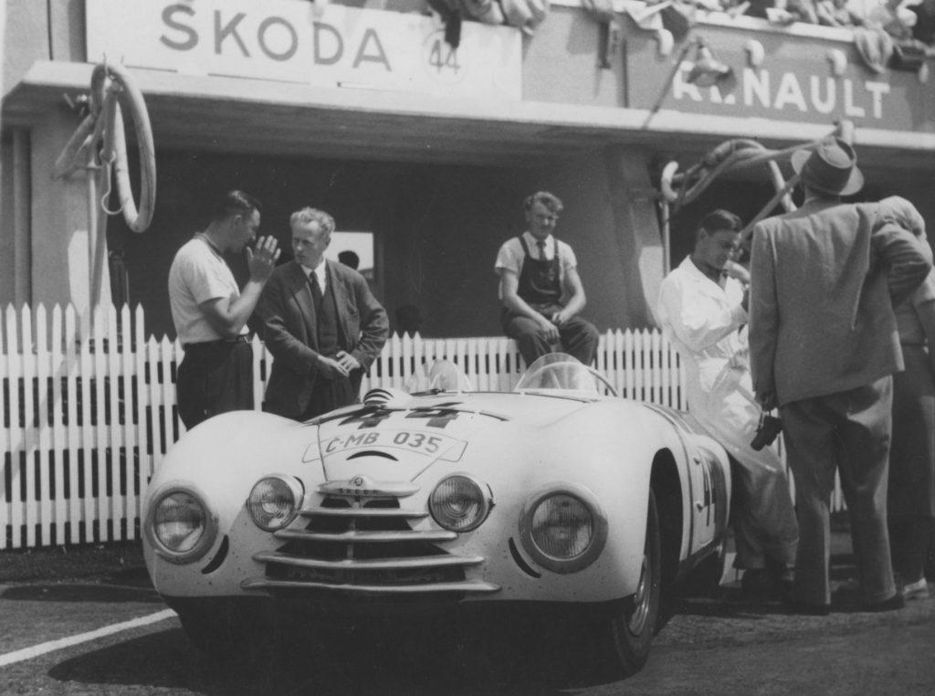 Škoda Sport na Le Mans v roce 1950