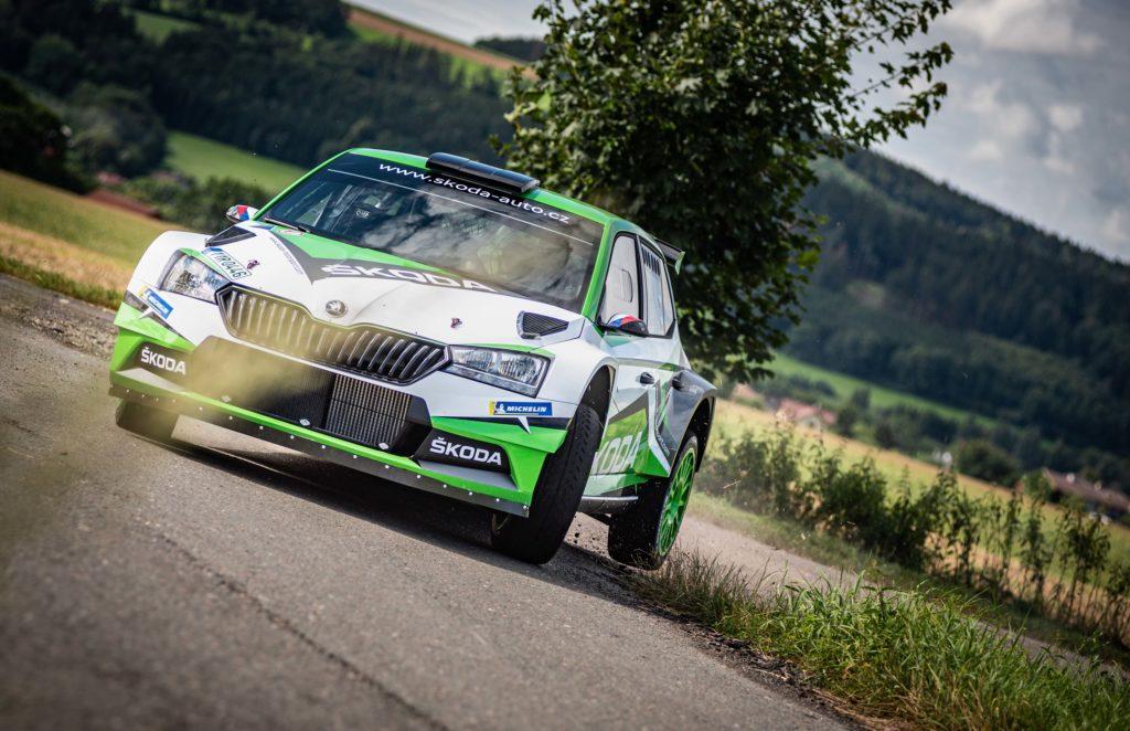 Jan Kopecký se chystá na Rally Pačejov