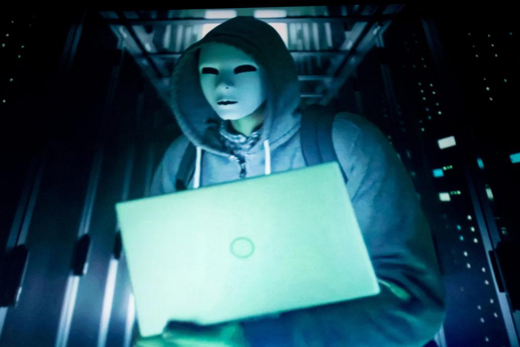Hacker - kybernetické útoky