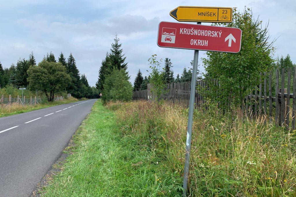 Nejhezčí silnice - Krušnohorský silniční okruh