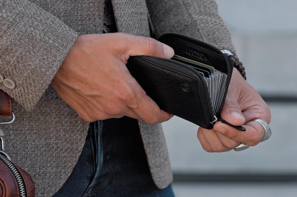 Peněženka - pouzdro na karty