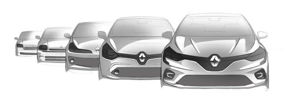 Renault Clio - vývoj