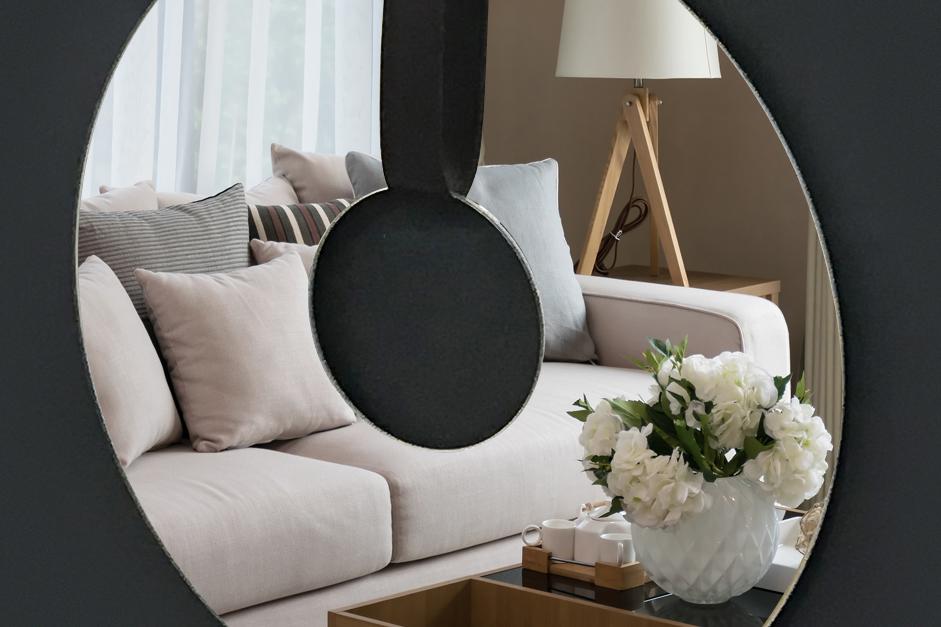 Interiérový design - zrcadlo