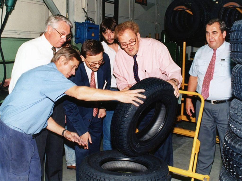Výroba pneumatik Barum