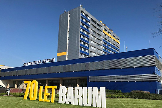 Sídlo společnosti Barum
