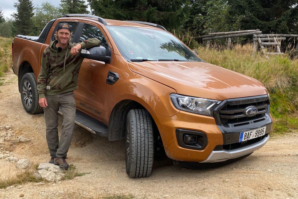 Jakub Vágner a jeho Ford Ranger Wildtrack