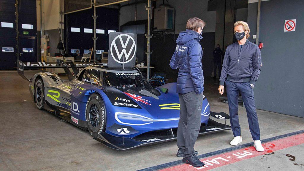 Nico Rosberg a Volkswagen ID.R