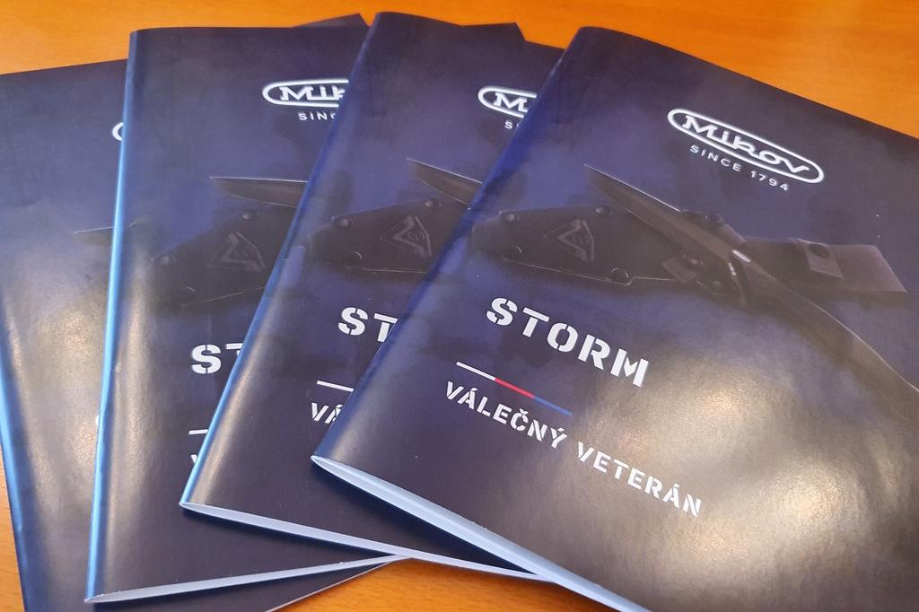 Brožura k noži Mikov Storm