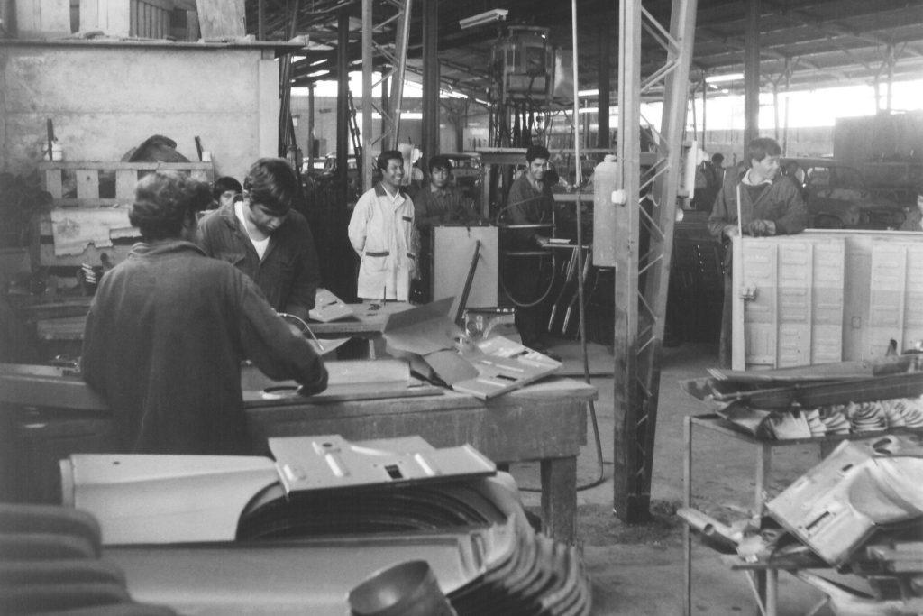 Výroba Octavií v Chile