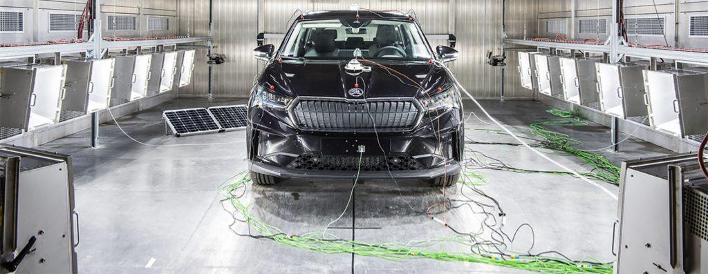 Solární komora Škoda Auto