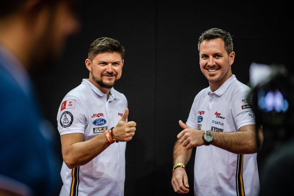 Martin Prokop a Viktor Chytka před Rallye Dakar