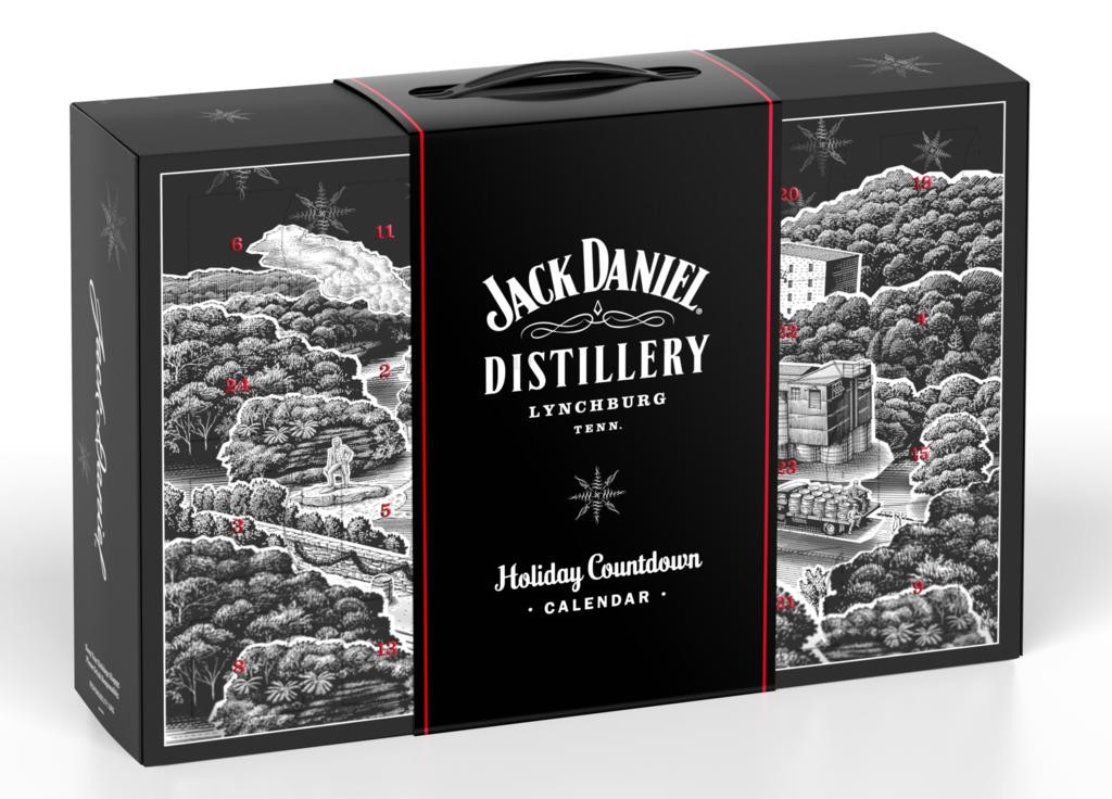 Adventní kalendář Jack Daniel's