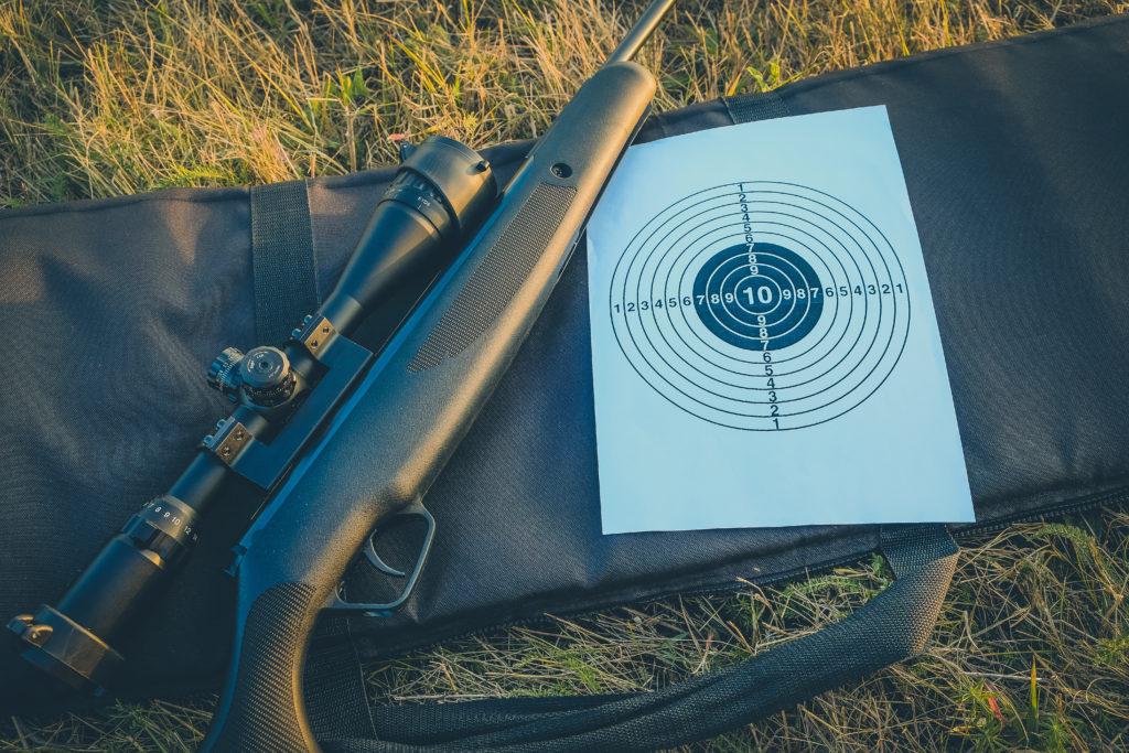 Vzduchovka s puškohledem