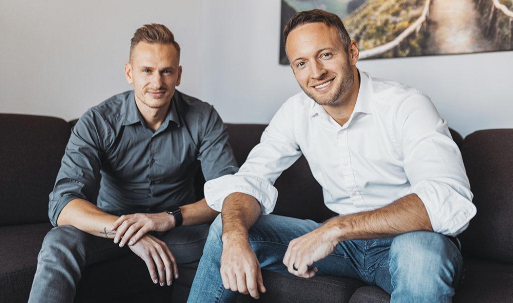 Autoři projektu breegy Adam Pavelka a Michal Šamaj