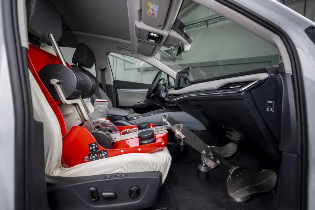 Měření objemu uvnitř vozidla