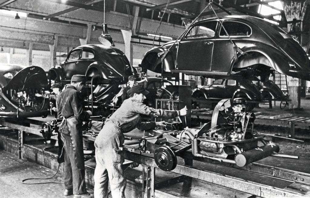 Volkswagen Brouk - výroba