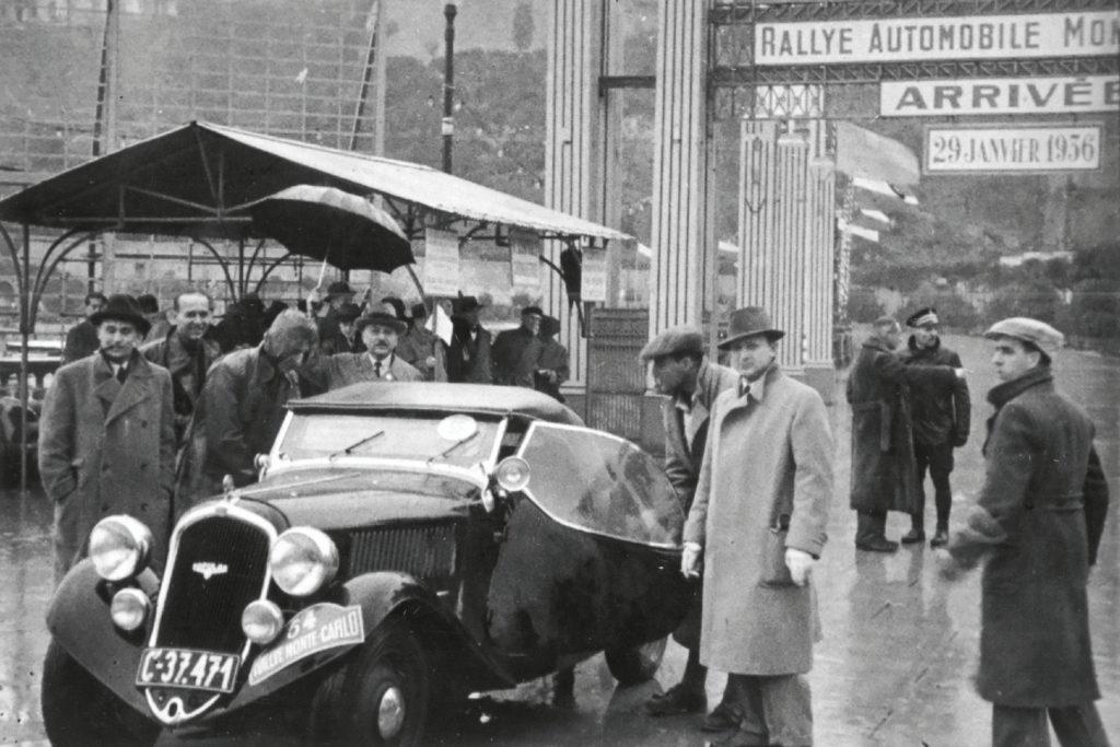 Škoda Popular Sport na Rallye Monte Carlo 1936