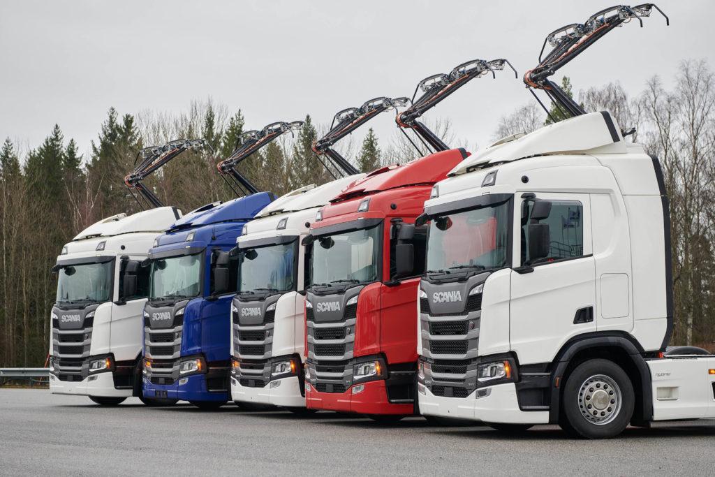 Elektrifikované kamiony