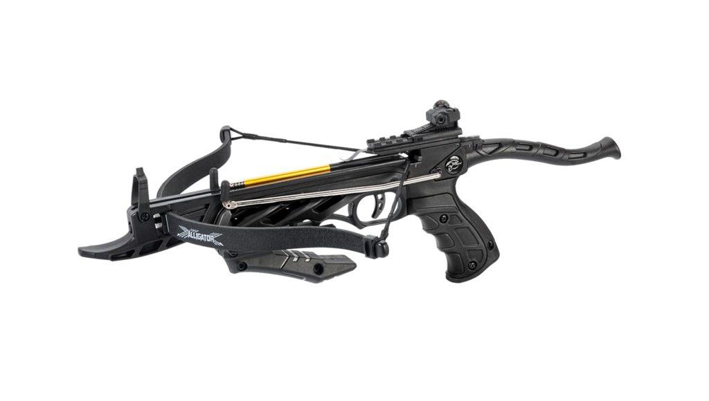 Pistolová kuše Mankung Aligator 80 lb