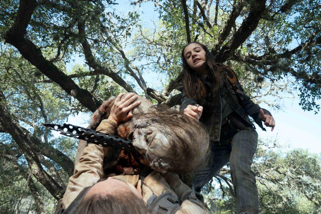 Alycia Debnam-Carey jako Alicia Clark v seriálu Živí mrtví