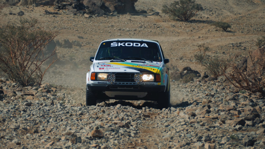 Škoda 130 LR na Dakaru