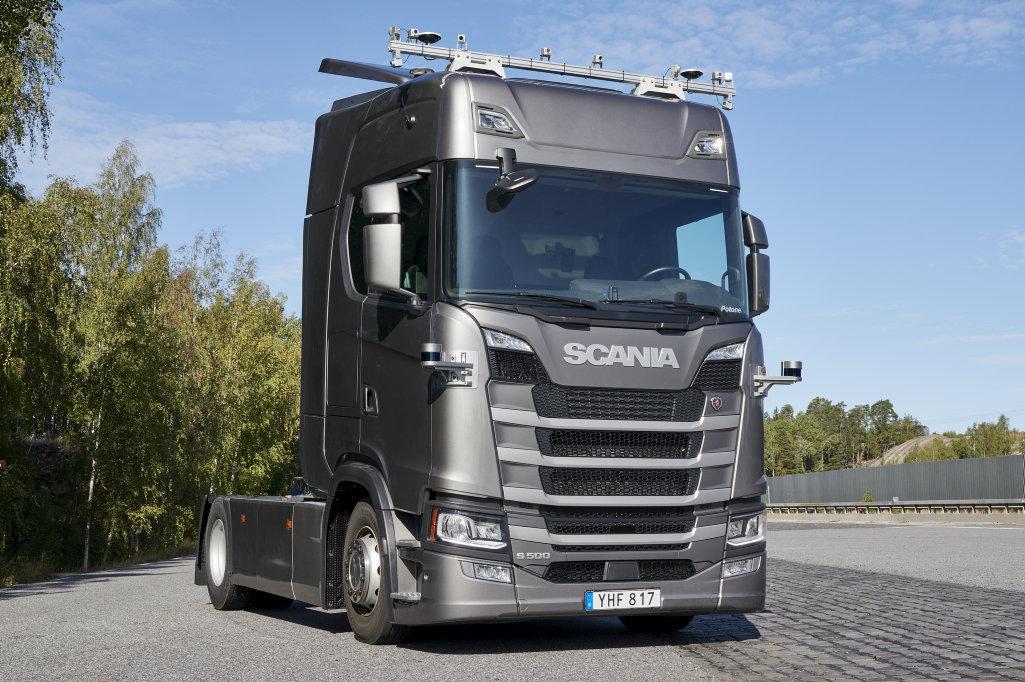 Autonomní kamion Scania