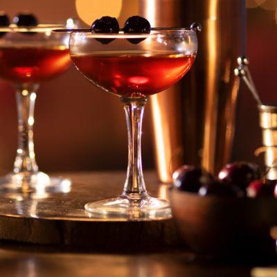 Valentýnské koktejly