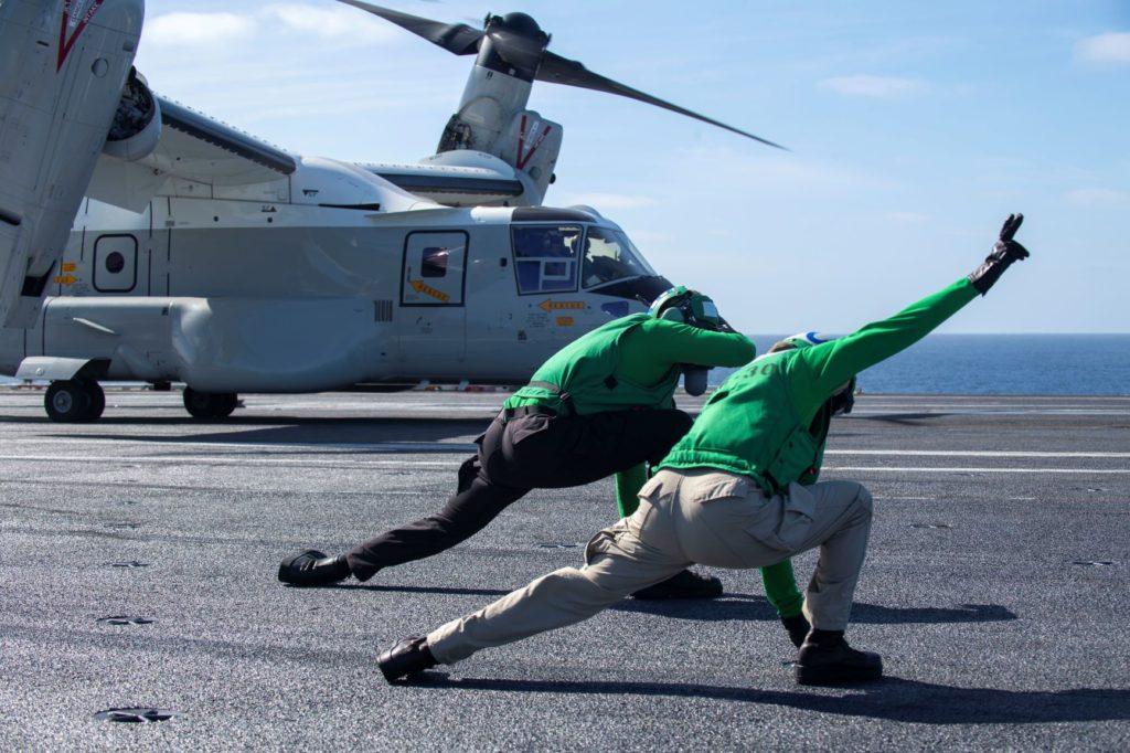 Start letounu V-22 Osprey