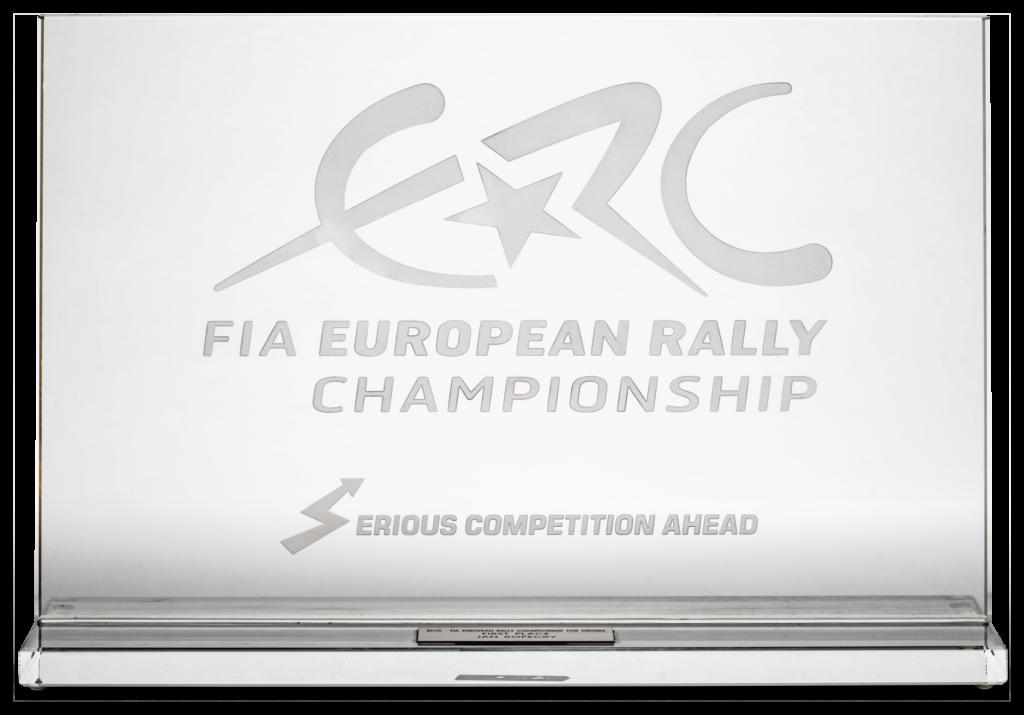 Trofeje – FIA European Rally Championship for Driver